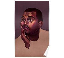 Kanye West Portrait Poster