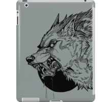 Werewolf moon inks iPad Case/Skin