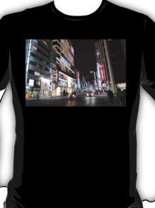 Ginza Streetscape, Chūō, Tokyo T-Shirt