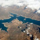 Keban Dam Lake, a hydroelectric resevoir created on the Euphrates. Turkey by stuwdamdorp