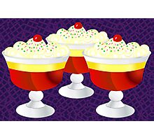 Who Loves Trifle? Photographic Print