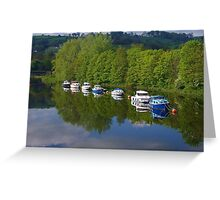 River Dart at Totnes (2) Greeting Card