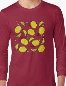 Lemons, Fresh Lemons Long Sleeve T-Shirt