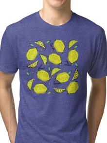 Lemons, Fresh Lemons Tri-blend T-Shirt