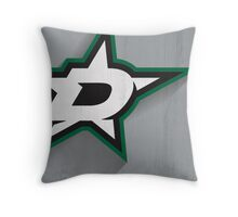 Dallas Stars Minimalist Print Throw Pillow