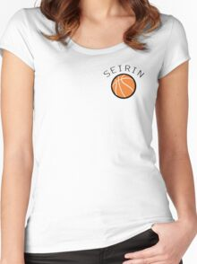 Kuroko No Basuke/Basket - Seirin Bench Uniform Women's Fitted Scoop T-Shirt