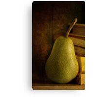 Kathy's Pear Canvas Print
