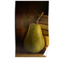 Kathy's Pear Poster