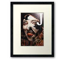 Joker to The thief Framed Print