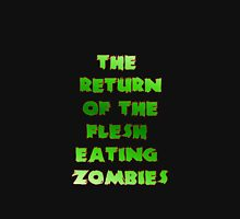 The Return Of The Flesh Eating Zombies (Green) Mens V-Neck T-Shirt