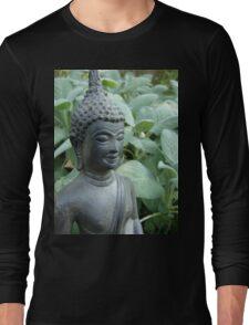 Budda in Nature  Long Sleeve T-Shirt