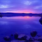 Lake Jindabyne Victoria Australia by Debbie Steer