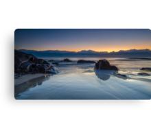 Cabarita Beach, NSW, Sunrise Reflections Canvas Print