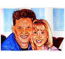 My friend Karen &Joe Poster