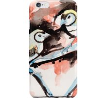 Double Bar Finches iPhone Case/Skin