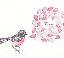 Birthday Robin by Susan Lee