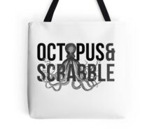 Gone Girl - Octopus And Scrabble Tote Bag