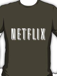 Netflix White T-Shirt