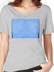 Mirrored lightning Women's Relaxed Fit T-Shirt