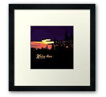 Kailua Kona Hawaii Sunset Framed Print