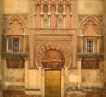 Mezquita door Córdoba Spain by Les Meehan