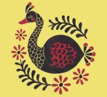 The Black Swan One Piece - Short Sleeve