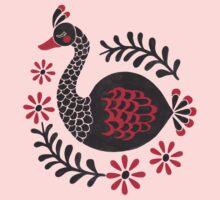 The Black Swan Baby Tee