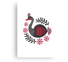 The Black Swan Canvas Print