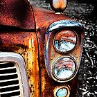 Rustic Dodge Ute by Peter Evans