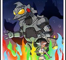 Terror of Mechagodzilla by BLARGEN69