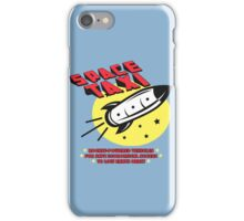Space Taxi iPhone Case/Skin