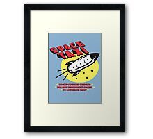 Space Taxi Framed Print
