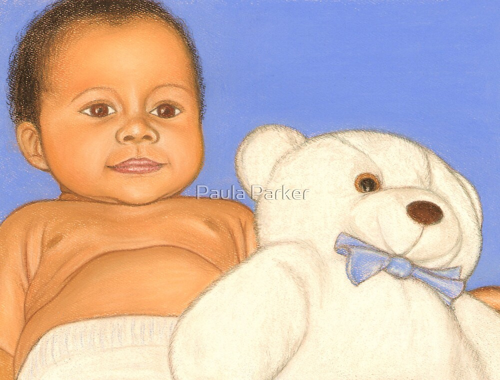 Baby and Bear by Paula Parker