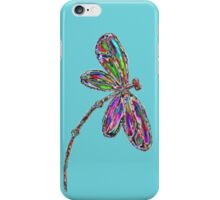 Dragonfly  Neon  iPhone Case/Skin