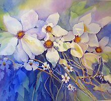 White Clematis by bevmorgan