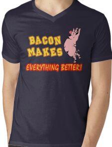 Bacon Makes Everything Better Mens V-Neck T-Shirt