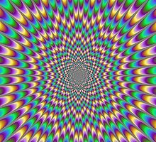 Trippy optical illusion. Look carefully ;) by waiting4urcall
