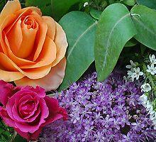 Flower-palette by Arie Koene