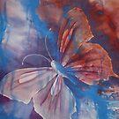 Watercolour: Le Monde Papillon by Marion Chapman