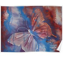 Watercolour: Le Monde Papillon Poster
