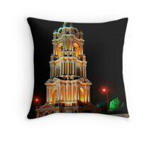 Novospasky monastery Throw Pillow