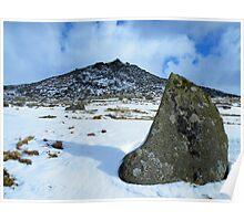 Cornwall: Snow at Rough Tor 2 Poster