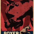 Boxer Rebellion - Vintage Propaganda Poster Style Pop Art by Galen Valle