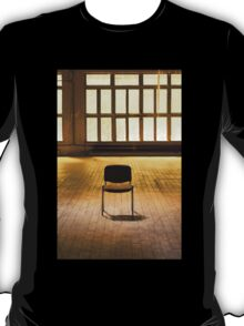 Lone chair empty hall  T-Shirt