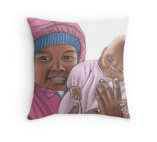 Dolly and Me Throw Pillow
