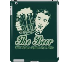 Give a Man a Beer iPad Case/Skin