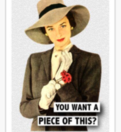 Tough Lady Sticker