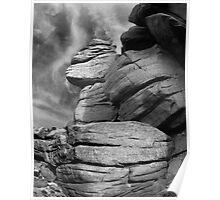 Blackstone Edge, Lancs England Poster