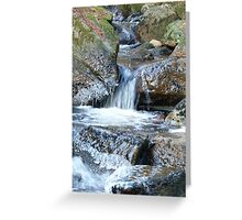 Ice Age - Water Descending Greeting Card