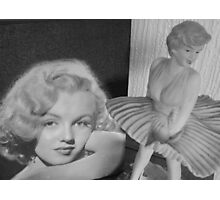 Tribute to Marilyn Photographic Print